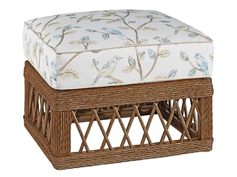Fine Furniture Design - Trellis Wicker Ottoman - 4512-04