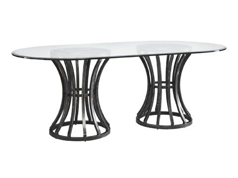 Fine Furniture Design - Prescot Dining Table - 1574-818S/DTT-C8442B