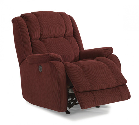 Image of Fabric Power Rocking Recliner
