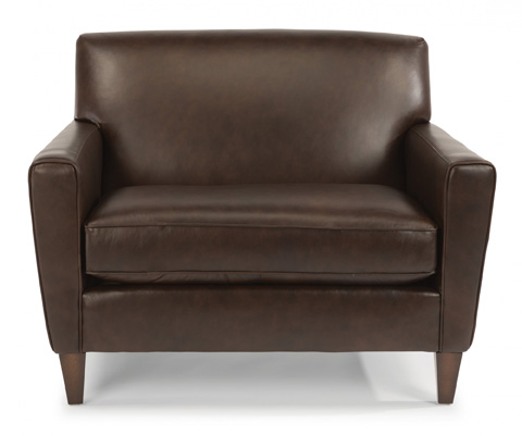 Flexsteel - Leather Chair and a Half - 3966-101