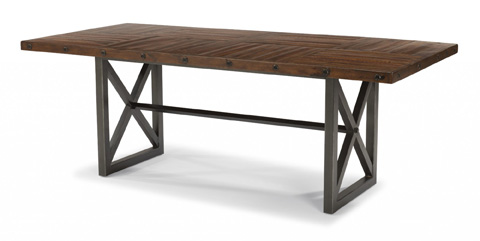 Flexsteel - Rectangular Dining Table - W6722-831