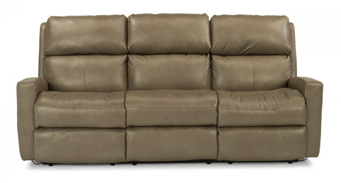 Image of Catalina Leather Reclining Sofa