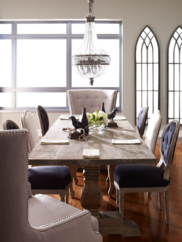 Four Hands - Durham Dining Table - CIMP-C52-BO