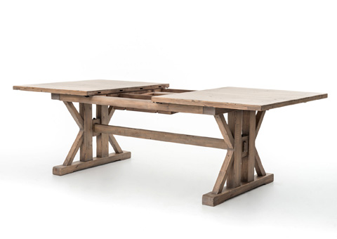Four Hands - Tuscan Spring Extension Dining Table - VTUD-05-10