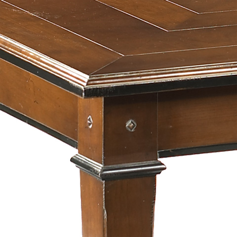 French Heritage - Directoire Square Dining Table - A-2320-401-ANT
