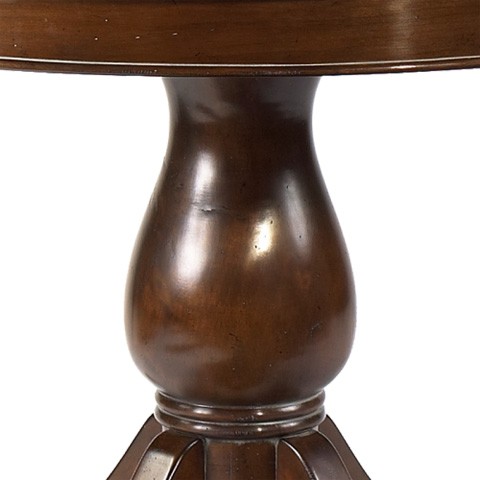 French Heritage - Renne Round Pedestal Dining Table - A-2320-403-ANT
