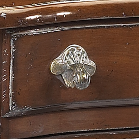 French Heritage - Mareau Cherry Two Drawer End Table - A-2441-404-ANT