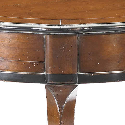 French Heritage - Amelie Round Side Table - A-2442-403-ANBK