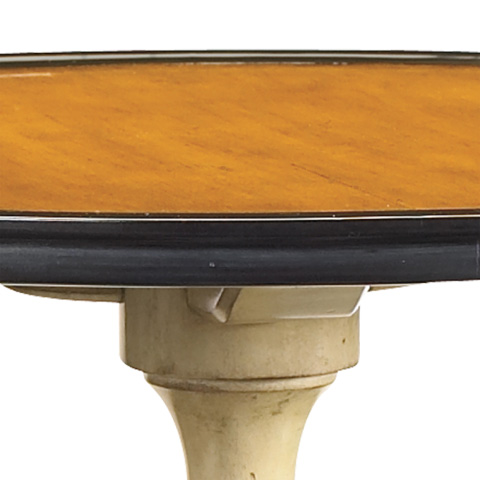 French Heritage - Boule Round Two-Tone Side Table - M-1342-201-VOU