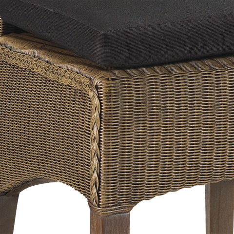 French Heritage - Henri Woven Parsons Side Chair - M-7228-101-TAN