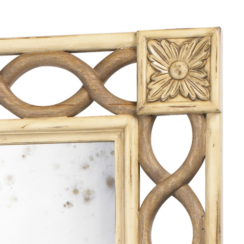 French Heritage - Le Fay Rectangular Wall Mirror - M-8704-1201-SHI