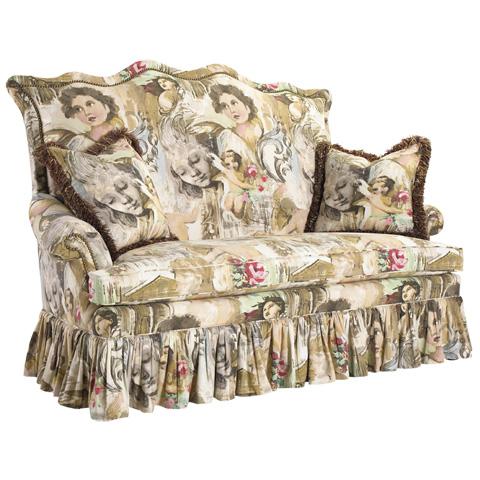 French Heritage - D'Artagnan High Back Sofa - U-3060-0673