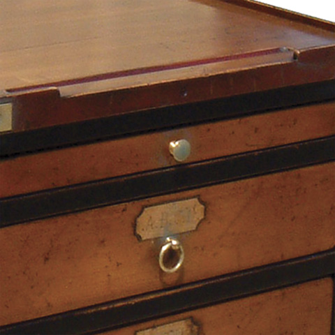 French Heritage - Jeweler's Filing Cabinet - A-4250-401-BLACK