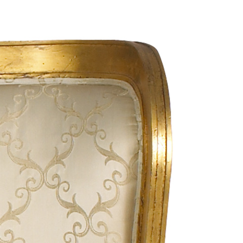 French Heritage - Passy Wing Eastern King Bed - M-2112-201-GLD