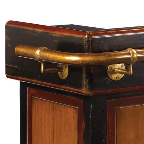 French Heritage - Stand Up Bar de Bistro - M-FL59-805-BKR