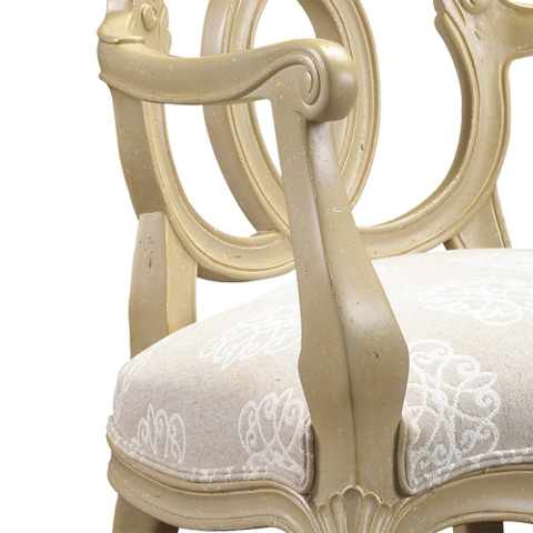 French Heritage - Josselin Arm Chair - M-1527-204-BESA