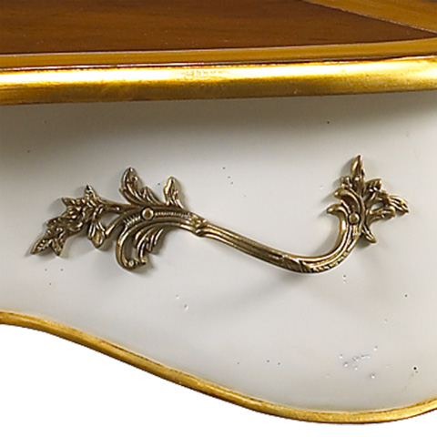 French Heritage - Barthelemy Desk - M-1545-401-WHT
