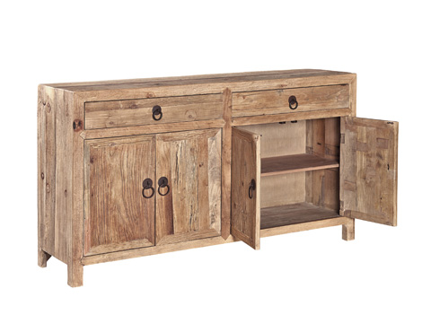 Furniture Classics Limited - Old Elm Sideboard - 71061