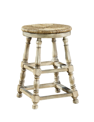Furniture Classics Limited - Mahogany Baluster Counter Stool - 1723QM