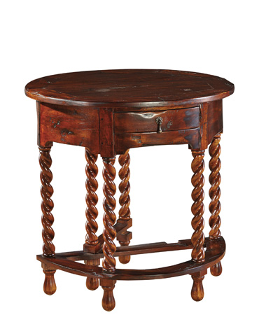 Furniture Classics Limited - Gateleg Barley Twist Table - 28710QC