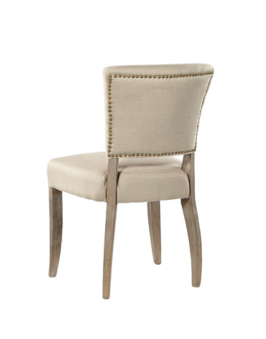 Furniture Classics Limited - Simple Linen Side Chair - 91-414F