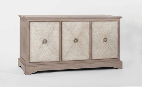 Gabby Home - Ansley Parched Oak Cabinet - SCH-280105