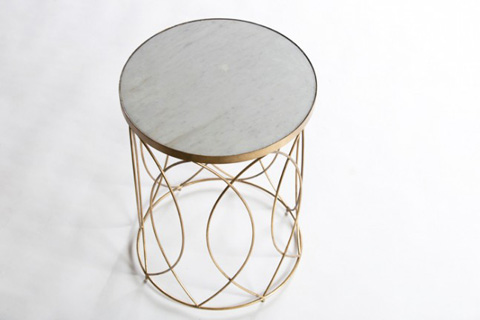 Gabby Home - Nicole Side Table - SCH-290350