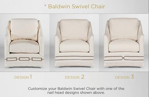 Gabby Home - Baldwin Swivel Chair - SCH-606