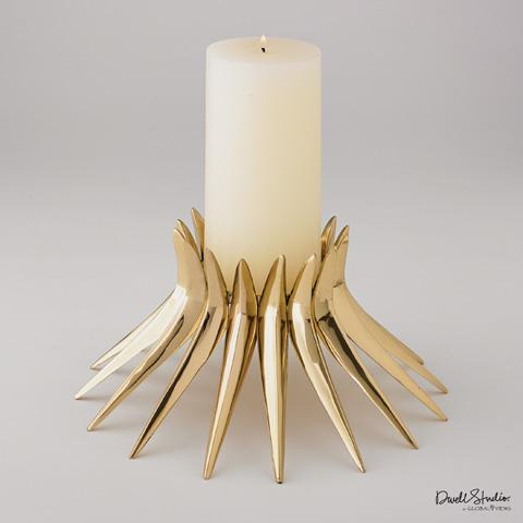 Global Views - Corona Candleholder - D9.90044