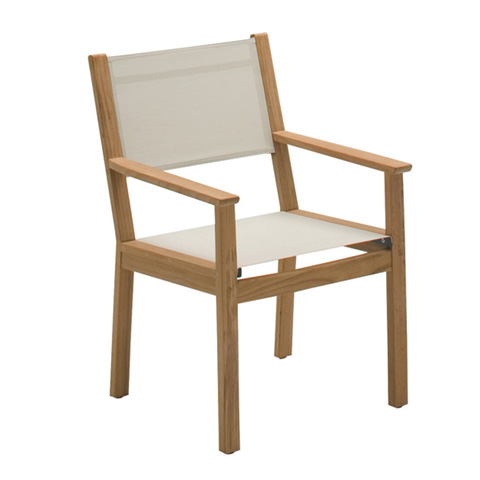 Gloster - Solana Sling Dining Chair with Arms - 1802
