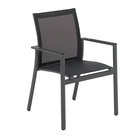 Gloster - Azore Stacking Chair with Arms - 540