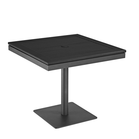 Gloster - Azore Square Pedestal Dining Table - 5497