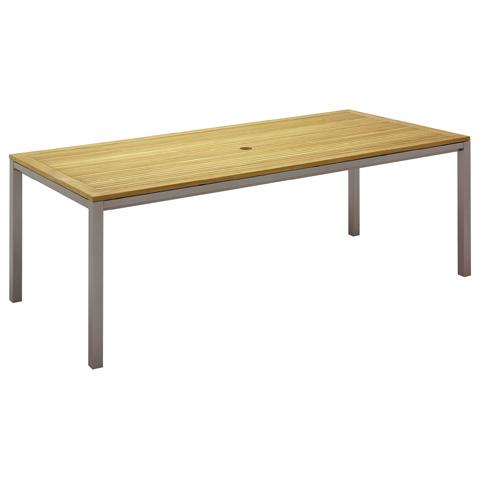 Gloster - Azore Rectangular Medium Dining Table - 5439