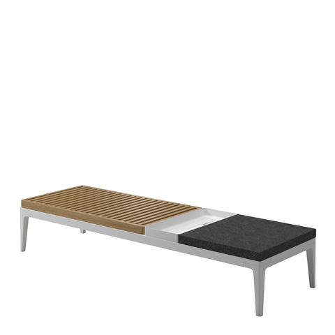 Gloster - Grid Coffee Table - 7186