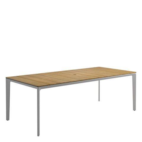 Gloster - Carver Rectangular Medium Dining Table - 7621H