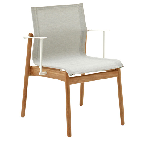 Gloster - Sway Teak Stacking Chair with Arms - 8203