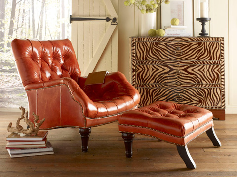 Chaddock - Leather Sleepy Hollow Chair - L-0278-1