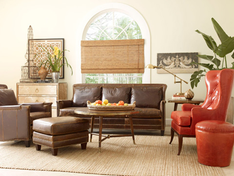 Chaddock - Leather Redondo Sofa - L-0601-3