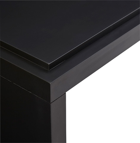 Chaddock - Grace Parson Cocktail Table - Tar Finish - MM1479-40