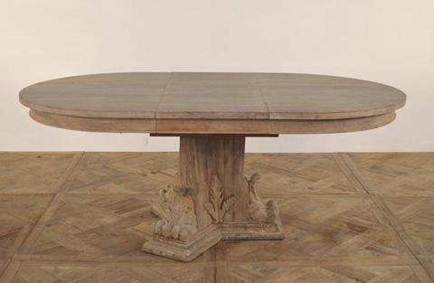 GJ Styles - Edison Oval Extending Dining Table - SN545