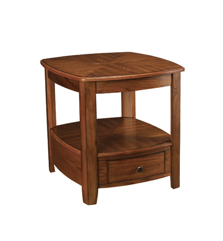 Hammary - Rectangular Drawer End Table - T2006921-00