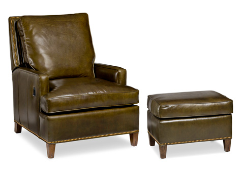 Image of Arrington Tilt Back Chair and Ottoman