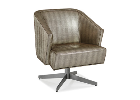 Hancock and Moore - Twist Chair and Ottoman - 5863