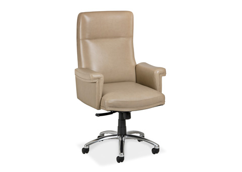 Hancock and Moore - Lee Swivel Tilt Chair - 5894ST-PL