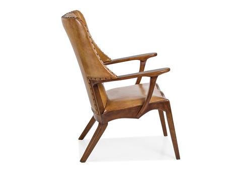 Hancock and Moore - Braiding Tufted Chair - 6124-1-T