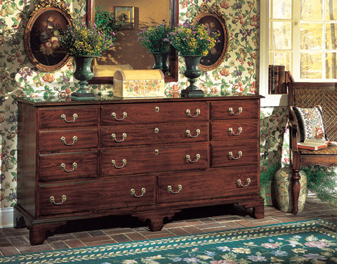 Image of Hudson Valley Eleven Drawer Dresser