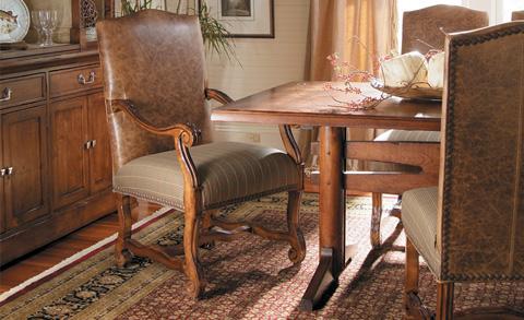 Harden Furniture - Carved Frame Arm Chair - 3415-000