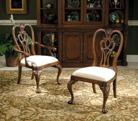 Harden Furniture - Traditional Dining Arm Chair - 1266