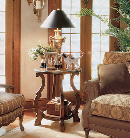 Harden Furniture - Fixed Shelf Accent Table - 1546