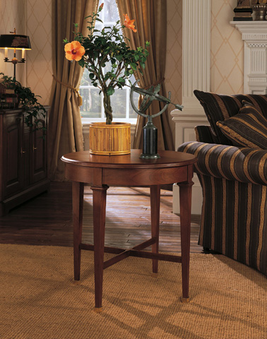 Harden Furniture - Marseille Round End Table - 1818